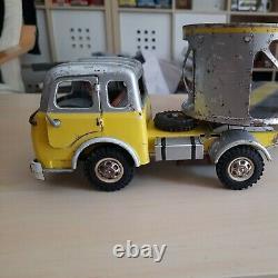 Berliet Tak Tck Camion Joustra Remorque Cfta Transport Voiture 1970 Ref 487 Rare