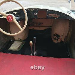 Bimboracer Baby Ferrari Racer V12 Rarissime Auto Enfant Electrique Italie 1957