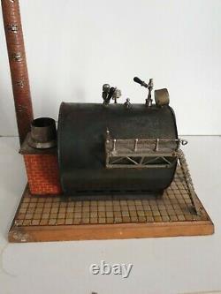 Bing Machine à vapeur Vanna Steam Socle 1904 usine