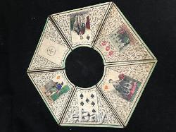 Bog Jeux de Société Ancien Lithographiée Jouet Antique French