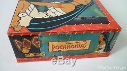 Boite de 25 Sachets Booster Pog Série Pocahontas / WPF Pogs officiel NEW