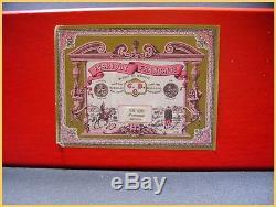 CBG Mignot attelage 1900, Calèche (promenade au bois)+boite (antique toys)