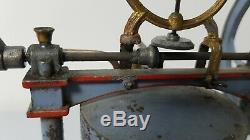 CHARLES ROSSIGNOL 555. Moteur à vapeur vive CR. 1900