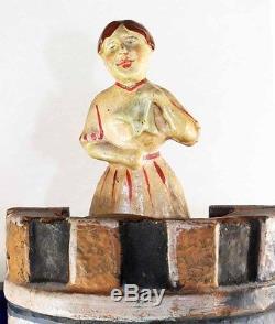 CIBLE ou MASSACRE BARBE BLEUE vers 1900 / jeu ancien charlie chaplin