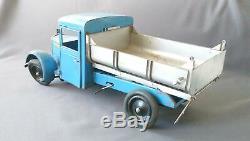 CIJ Les jouets Renault 1948 Camion benne Travaux publics