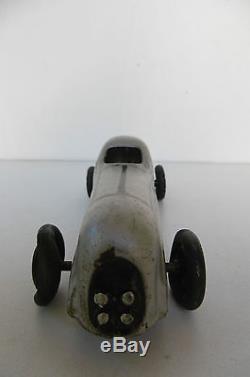 CIJ NERVASPORT TOLE GRIS METAL JOUETS RENAULT 18 cm 1934 / 39