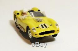 CIRCUIT 24 Ferrari TR 60 compétition jaune originale RARE no JEP no Scalextric