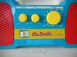 CLUB DOROTHEE poste radio Collector AB production 1990 jouet vintage tv TF1