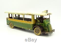 CR Rossignol Tôle Bus Autobus Parisien Passy Bourse