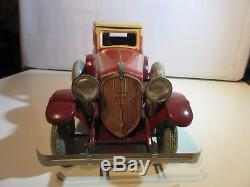 C. R. Charles Rossignol Peugeot 601 Coupe Original Jouet Ancien