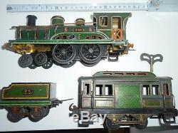 C. R. Rame AVEC LOCOMOTIVE VAPEUR N°70 et 71 mécanique en o hornby jep
