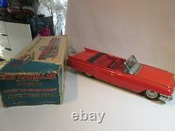 Cadillac Cabriolet Sss Japan Bandai Original Jouet Ancien