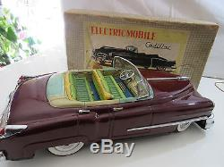 Cadillac T. N. Marousan Cabriolet Japan Original- Jouet Ancien