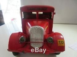 Camion Cij Renault 5t Dit Nez De Cochon Original Jouet Ancien