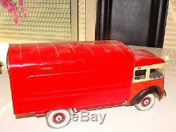 Camion M. L. Pas C. R. Parfait Berliet Original Jouet Ancien