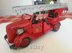 Camion Pompier Grd Echelle Vebe 4 Pers + Boite