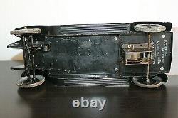 Camion plateau 1930 Citroen C4 original 43cm jouet mécanique ancien en tole