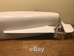 Canot JEP 916 Bateau jouet en tôle de bassin Mécanique No Ruban Bleu