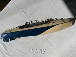 Canot automobile de course JEP Ruban bleu n°2