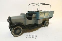 Cardini Camion de Livraison Mecanique 21,5 Cm Superbe Etat Italie 1925