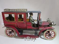Carette Limousine Grand Model Original Jouet Ancien