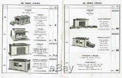 Catalogue original JOUETS CITROEN 1935 / jouet ancien antique toy