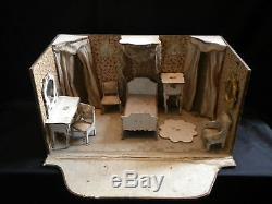 Chambre de poupée 19ème De la maison Badeuille