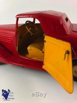 Cij 5/50 Coffret Camping Renault Vivasport Luxe Jouet Ancien Tole Vers 1935