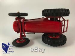 Cij Europarc Renault 8/51 Tracteur Electrique Rouge 1/10 Jouet Ancien Tole