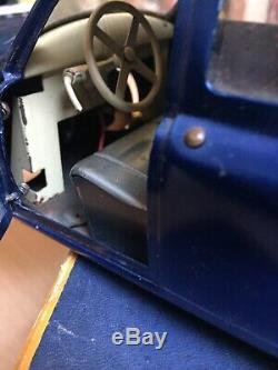 Cij Voiture Tole Renault Fregate Electrique Bleu En Boite D'origine Bel Etat