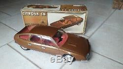Citroen CX SANCHIS 1/12 avec boite friction jouets type SM Mont blanc joustra