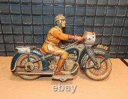 Ckao Arnold, Motocyclette En Tôle Mécanique, Années 20 30, A643