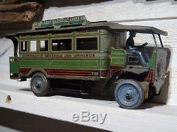 Compagnie Generale Des Omnibus N°977 C R Charles Rossignol Autobus Parisien