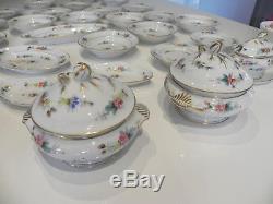DINETTE ANCIENNE important lot 29 pièces faience porcelaine de paris