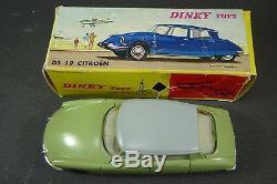 DINKY TOYS FRANCE. CITROEN DS 19. + Boite REF 530