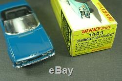 DINKY TOYS FRANCE. PEUGEOT 504 Cabriolet. + boite. REF 1423