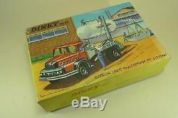 DINKY TOYS FRANCE. UNIC MULTIBENNE PRIMAGAZ. REF 805 + boite
