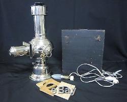 DV1722 LAPIERRE LAMPADOPHORE LANTERNE MAGIQUE 1886 48cm