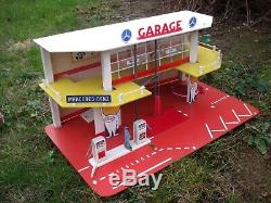 Exceptionnel Garage Station Service Depreux 1970 Neuf D'origine 1/43
