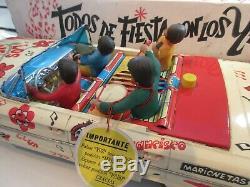 Exceptionnel La Ford Rico Beatles Rare Dans Cet Etat Original Jouet Ancien