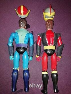 Figurines Actarus Et Alcor Ceji Arbois Goldorak Goldrake Jumbo Shogun Warriors