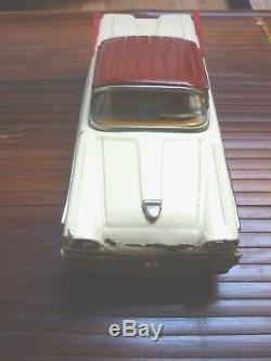Ford Fairlane Joustra Tole Ancien Jouet Auto Friction Tin Toy Car