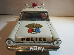 Ford Police Taiyo Japan Original Jouet Ancien