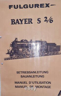 Fulgurex Aster Bayer S 2/6 Vapeur Vive + Banc D Essais Echelle 1