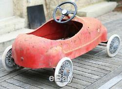 GIORDANI - Voiture à pédale - Alfa Roméo 158 - 1951 - Belle