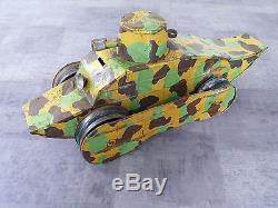 GRAND CHAR TÔLE RENAULT CIJ L 45 cm BEL ETAT No 1