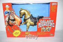 Galoob Galaxy Rangers Vintage Horse Mel MISB Factory Sealed NEUF en boite