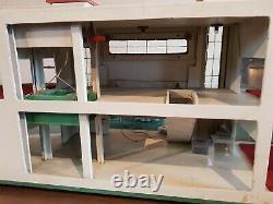 Garage Babyjou Depreux 1/43 Dinky Toys Norev Solido Cij Jep Jrd