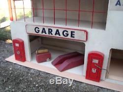 Garage Majolu Station Service Mobiloil 1955 Etat D' Origine Fantastique