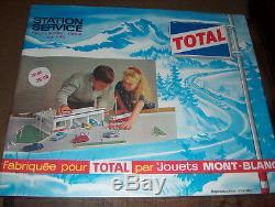 Garage Mont Blanc. Station Service Total Mont Blanc
